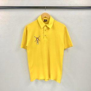 80s SPU Seattle Pacific University Polo Shirt VTG